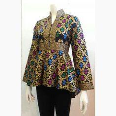 Baju Batik Modern Kerja 7807d2bb5d