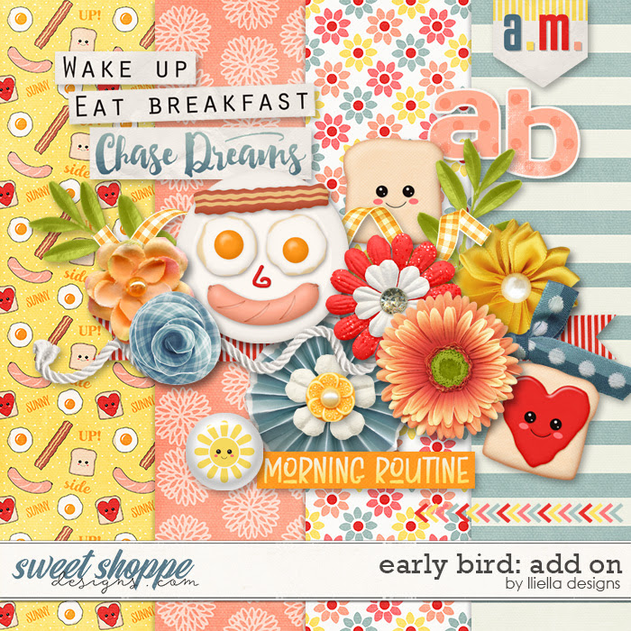 Early Bird: Add On by lliella designs