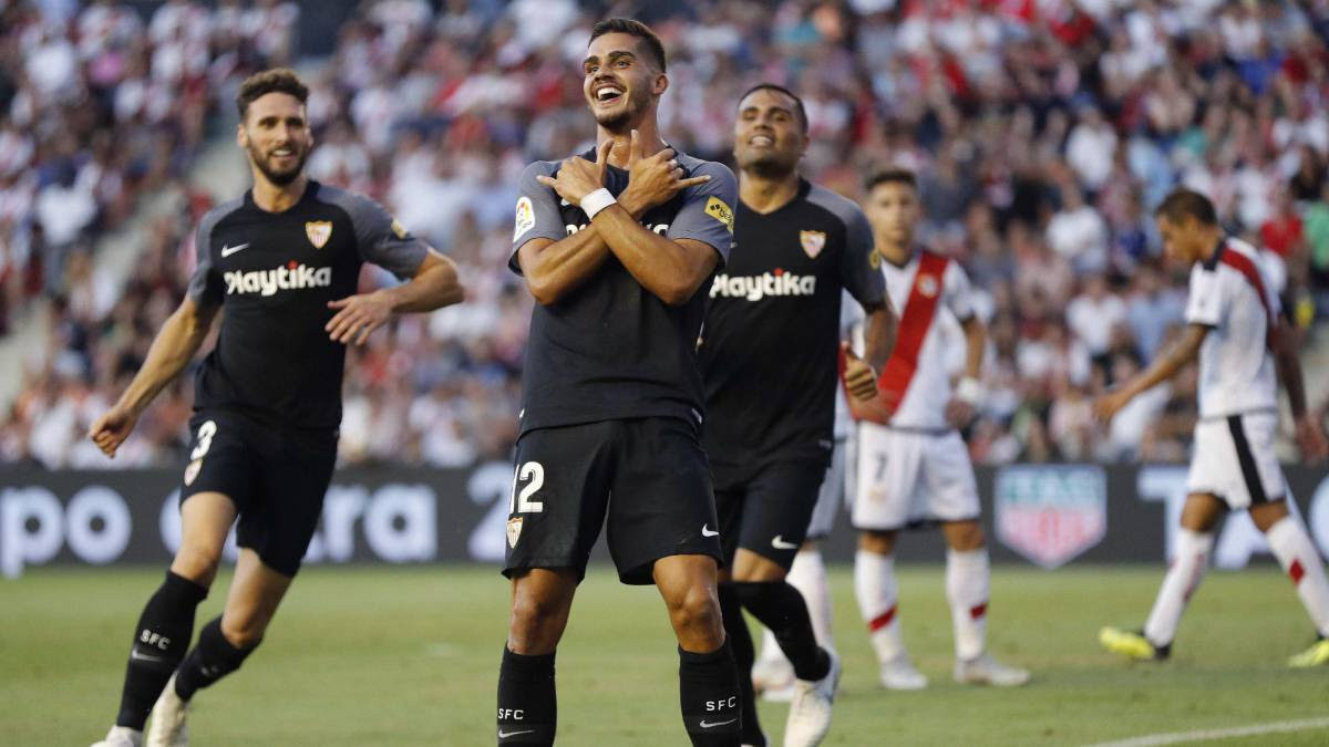 Image result for Sevilla vs Rayo Vallecano