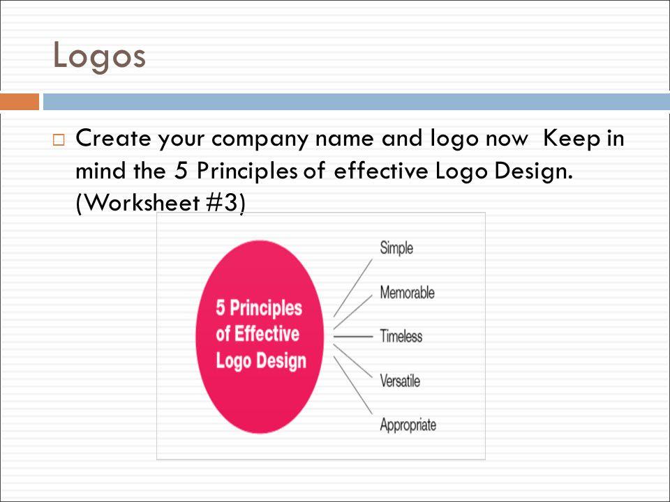 Creating Effective Logos