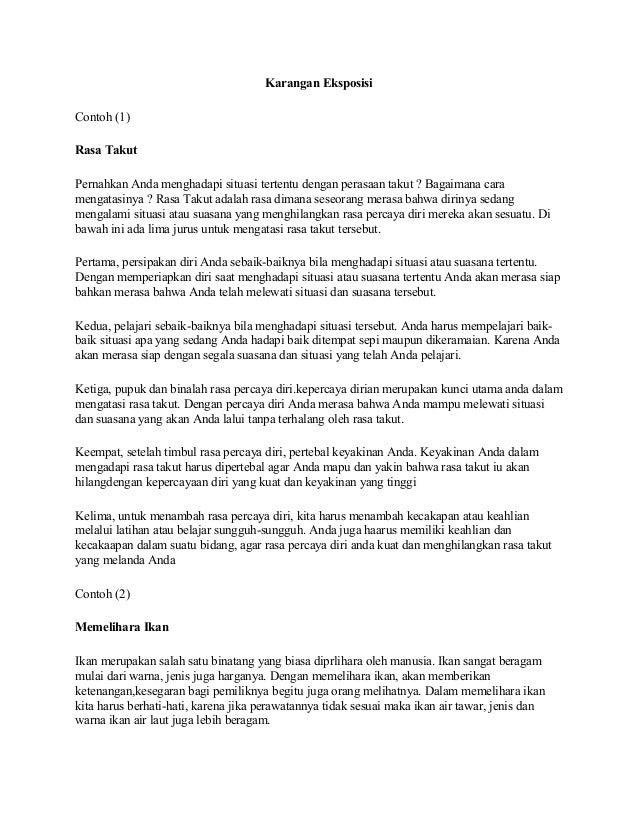 Contoh Wacana Eksposisi Dalam Bahasa Jawa Euratoh