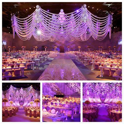 17 Mindblowing Luxurious Wedding Reception Decor by Design