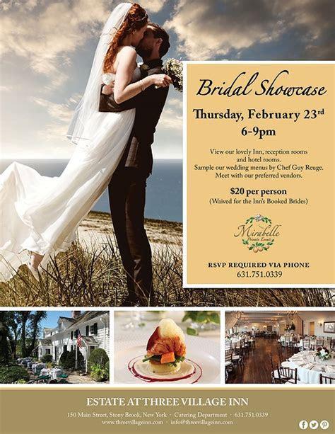Estate at Three Village Inn's 2017 Winter Bridal Showcase