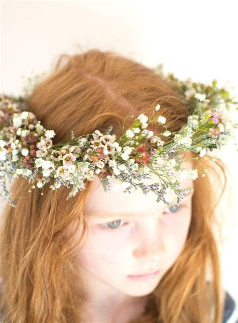 Floral Head Wreath   AllFreeDIYWeddings.com