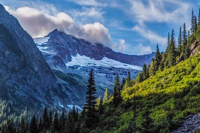 Taken from                   the Stehekin Valley Trail: Sahale Mountain, North                   Cascades National Park in Washington