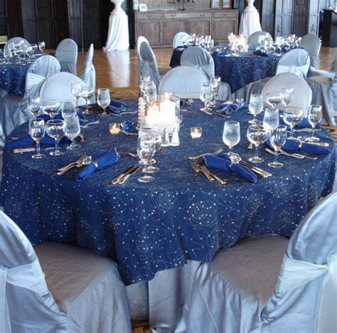 Denim & Diamonds Table LInen Tablecloth