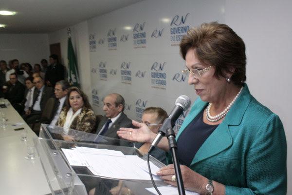 Rosalba aguarda liberação do delegado da PF, Kécio Pinto, para preencher Secretaria de Segurança