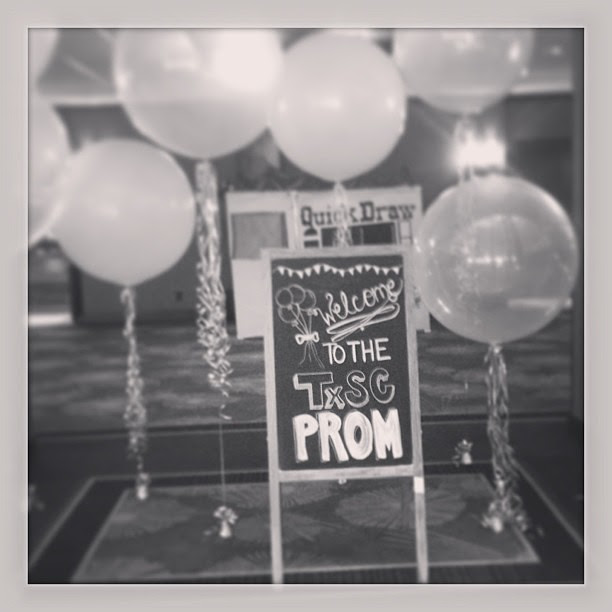 """It was a great """"prom"""". Night, y'all! #txsc13"""