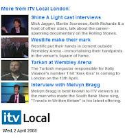 Tarkan on ITV Local London