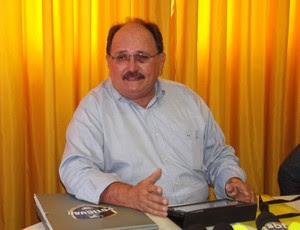 José Vanildo, presidente da FNF (Foto: Jocaff Souza/GLOBOESPORTE.COM)