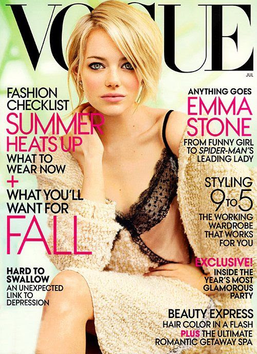 Vogue - July 2012, Emma Stone