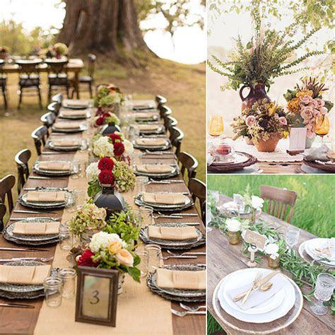 53 Fall Wedding Table Settings, 62 Romantic Fall Wedding