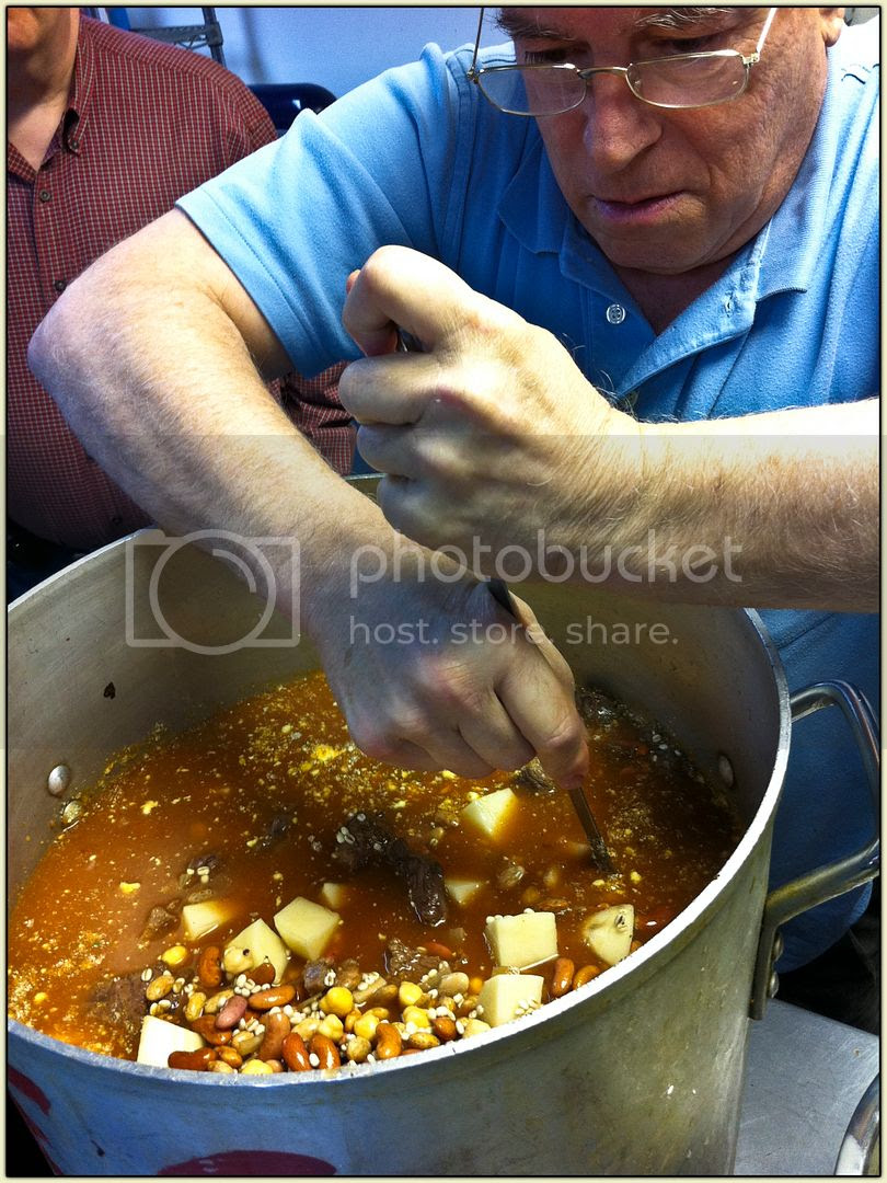 Stefan stirs the Pot
