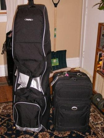 Packed for my Golfing Trip