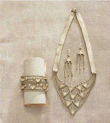 Triangle Ethiopian Jewelry Collection - VivaTerra