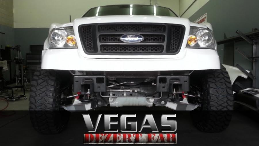 04-08 F150 4wd Long Travel Kit - Vegas Dezert Fab