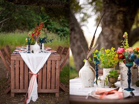 Inspired Creations   Al Fresco California Bohemian Wedding
