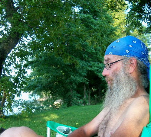 hubby at the lake too!