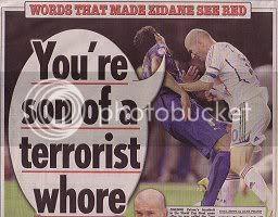 The headline of Dailymail newspaper