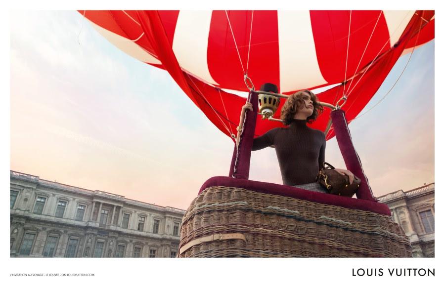 louis vuitton2 Arizona Muse Takes Flight for Louis Vuittons L'invitation au Voyage Campaign by Inez & Vinoodh