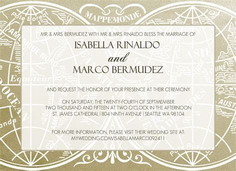 Vintage Wedding Invitation Wording, Theme Ideas, Retro