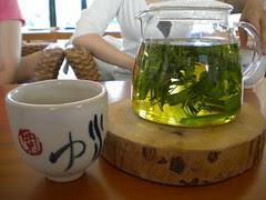 Lemongrass, sage, and rosemary tea
