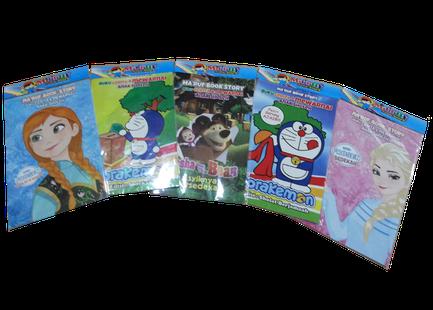 Menyediakan Buku Latihan Mewarnai Anak Sholeh Indonesia Buku