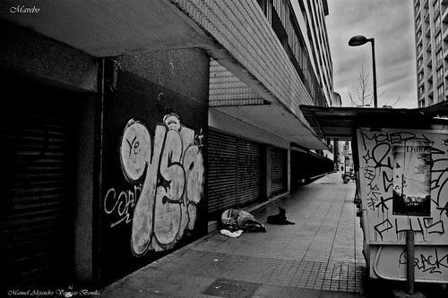 Paisaje urbano, Santiago de Chile. by Alejandro Bonilla