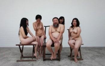 """A fotografia """"Um Tigre Oito Seios"""" é o motivo da nova investigação sobre Ai Weiwei"""