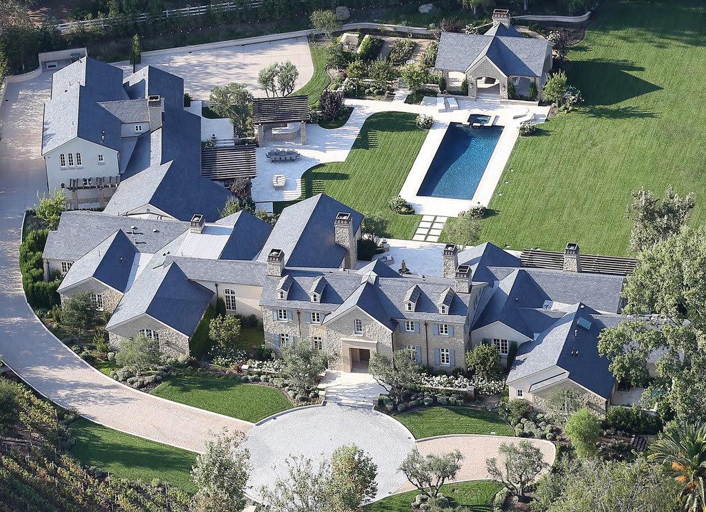 Kim Kardashian and Kanye West House  POPSUGAR Home Australia
