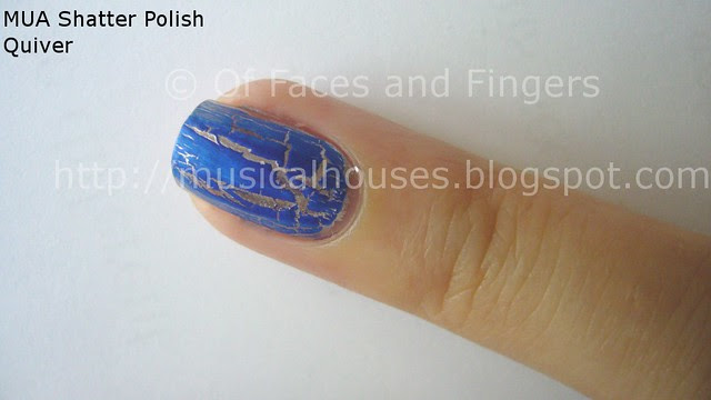 MUA Nail Quake Quiver shatter polish