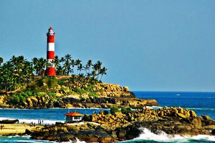 Beaches of Kovalam - best honeymoon hideway in Kerala