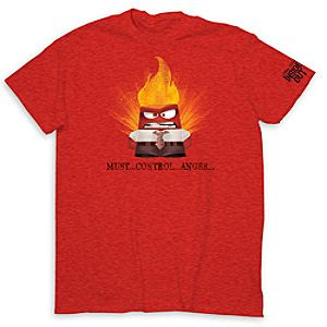 Anger Tee for Adults - Inside Out - Limited Release