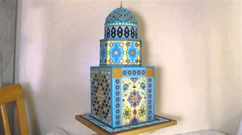 Iranian Mosque Wedding Cake   YouTube