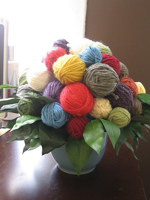 yarnandteaisallineed:  jarislove:  Perfect.  Oh! Yes! Because I love flowers, but I dislike buying them or having them bought for me. Because they will just die or the cats will eat them. But this! This would be AMAZING. THIS is the kind of bouquet for me! ^_^