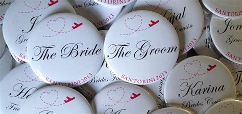 Wedding Badge