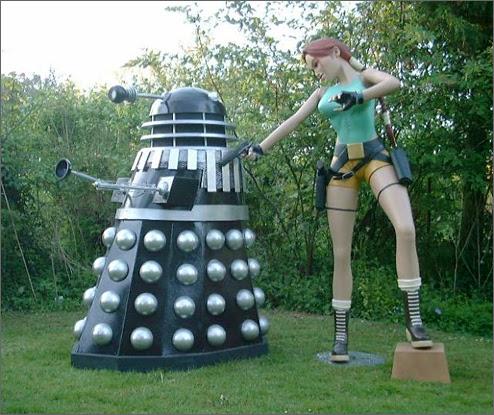 Lara vs. Dalek