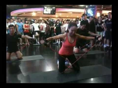 CXWORX demo -California fitness and yoga center- Group X Instructors