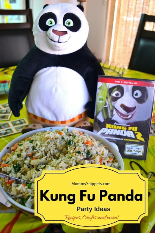 Kung Fu Panda Party Fried Rice recipe