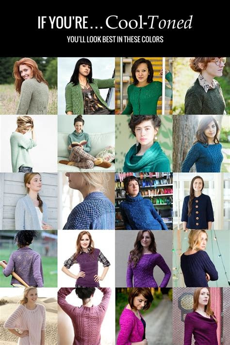 colors   skin tone  ultimate guide  color theory  sweater knitters part