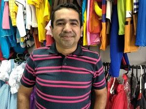 Empresário aposta em festa infantis para aumentar vendas (Foto: João Cunha/G1)