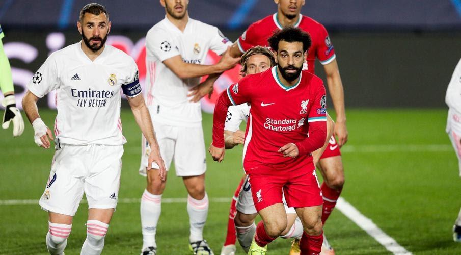 Real Madrid Vs Liverpool 2021 : Champions League 2021 ...