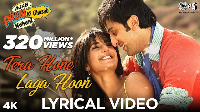 Tera hone Laga hoon lyrics - Atif Aslam & Alisha Chinai | lyrics for romantic song