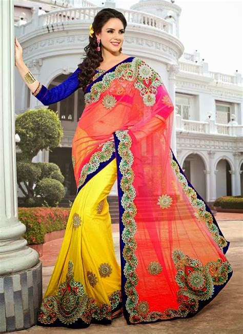 Indian traditional dress saree or sari for women   FASHION