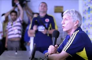 En la imagen, el técnico de la selección colombiana de fútbol, José Pekerman. EFE/Archivo