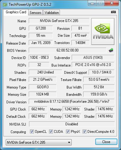 برنامج مجانى مميز لرصد واكتشف جميع المشاكل التى تتعلق بمعالج الرسومات والرام والمعالج الخاص بك مجانى GPU-Z 0.6.9