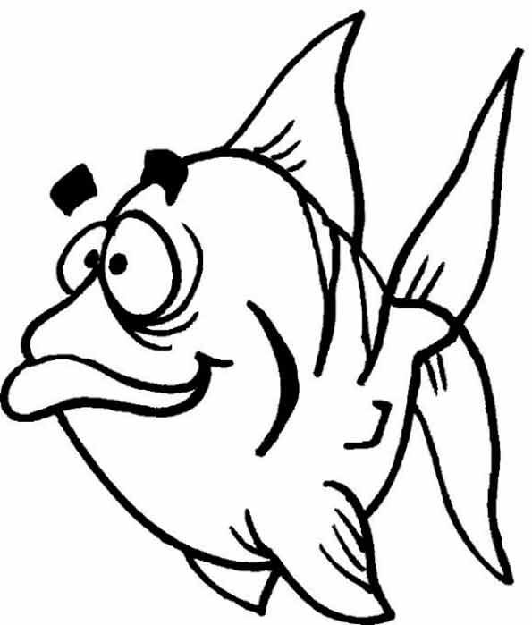 ausmalbilder ausdrucken fische  malvorlagen
