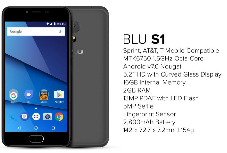 BLU S1 User Guide Manual Tips Tricks Download