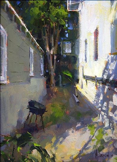 In Between by Jennifer McChristian Oil ~ 12 x 9