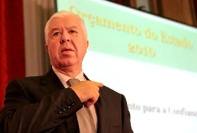 Ministro das Finanças, Teixeira dos Santos